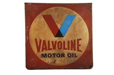 Lot 41-Valvoline Motor Oil Advertising Sign