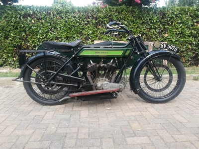 Lot 204 - 1922 Royal Enfield 8hp Model 180 Combination