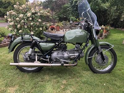 Lot -1972 Moto Guzzi Nuovo Falcone