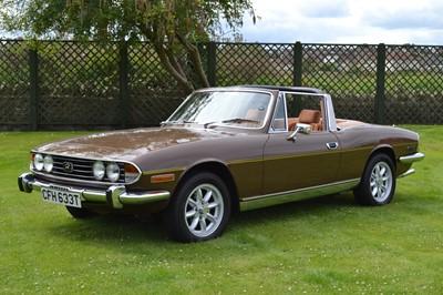 Lot 309-1975 Triumph Stag