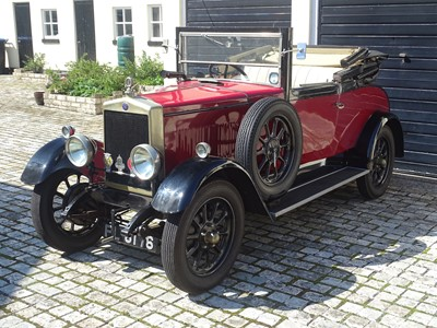 Lot 314 - 1927 Morris Oxford 3/4 Open Head Coupe
