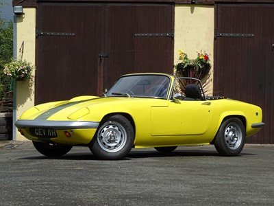 Lot -1969 Lotus Elan S4 Drophead Coupe