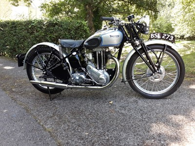 Lot 225 - 1937 Triumph T90 Tiger
