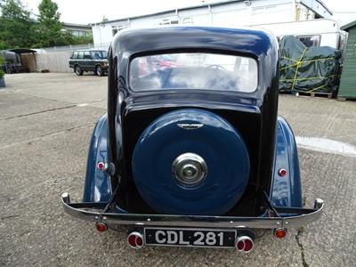 Lot 48-1938 Wolseley 14/56 Saloon