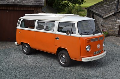 Lot 326 - 1974 Volkswagen Type 2 Camper Van