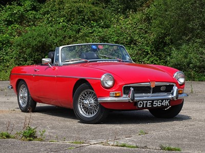 Lot 312 - 1972 MG B Roadster