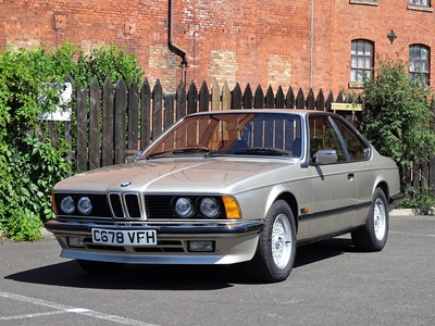 Lot 321 - 1986 BMW 635 CSi