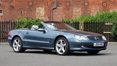 Lot 361 - 2004 Mercedes-Benz SL 500
