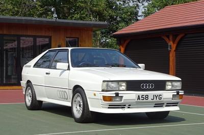 Lot 324-1983 Audi Quattro 10v