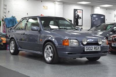 Lot 343 - 1989 Ford Escort RS Turbo