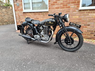 Lot 238 - 1936 Sunbeam Model 9