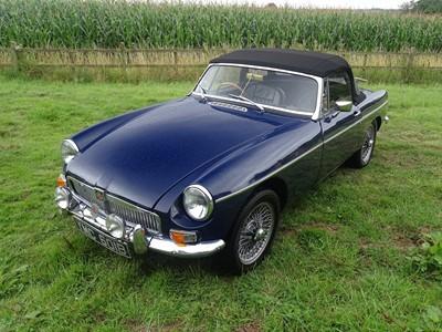 Lot 344 - 1964 MG B Roadster