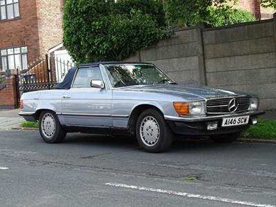 Lot 366 - 1984 Mercedes-Benz 280 SL