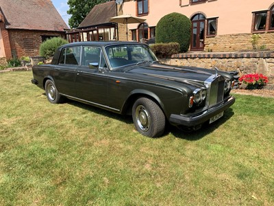 Lot 347 - 1979 Rolls-Royce Silver Shadow II