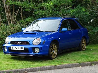 Lot 350 - 2001 Subaru Impreza WRX Wagon
