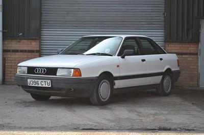 Lot 305-1991 Audi 80 1.8 S