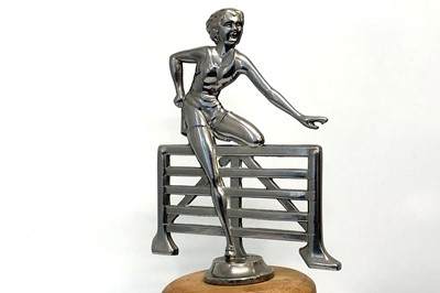 Lot 109 - Lady Hurdler Accessory Mascot, c1930s