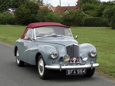 Lot 35-1953 Sunbeam Talbot Alpine MKI