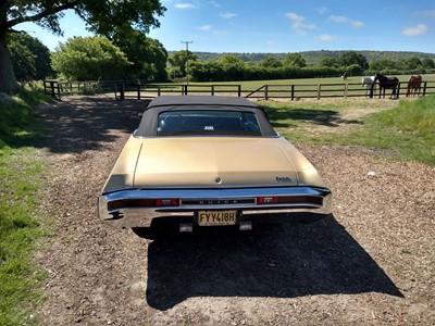 Lot 311-1970 Buick Skylark Custom Convertible