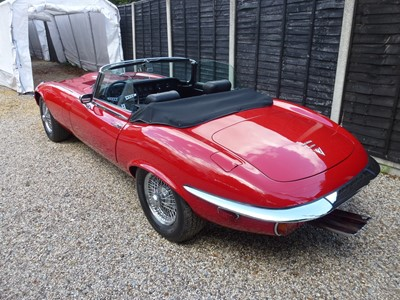 Lot -1973 Jaguar E-Type V12 Roadster