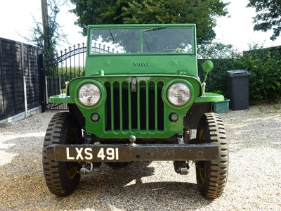 Lot 12-1946 Willys CJ-2A Jeep