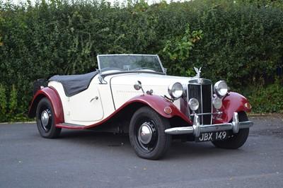 Lot 319-1953 MG TD