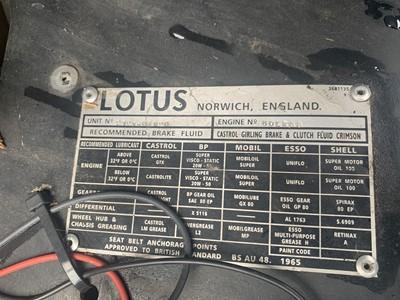 Lot 304-1971 Lotus Elan +2S