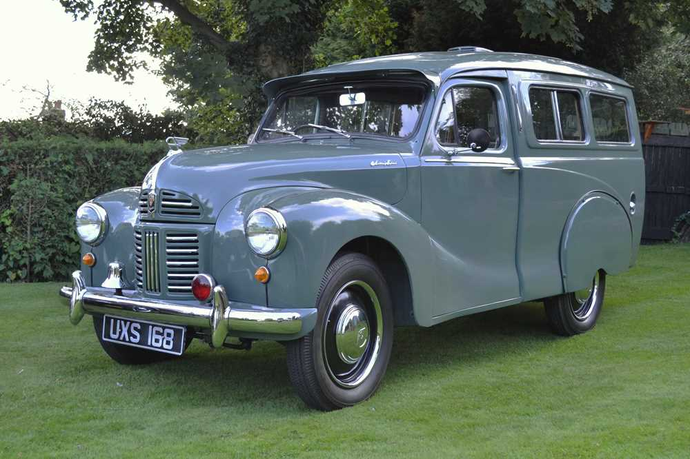 Lot 315-1952 Austin A40 Countryman