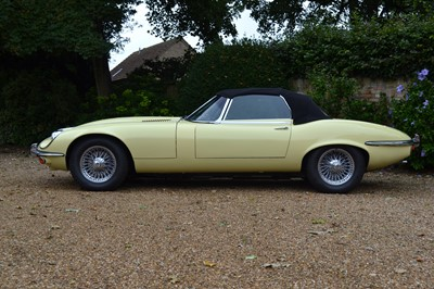 Lot 58 - 1973 Jaguar E-Type V12 Roadster