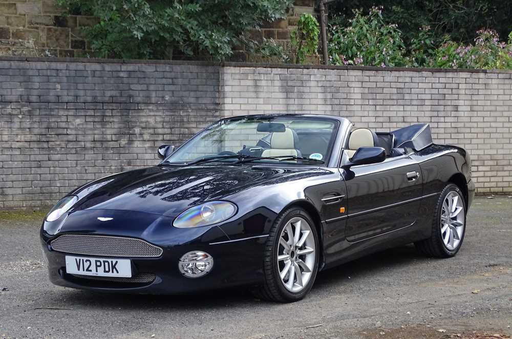 Lot 334-2002 Aston Martin DB7 Vantage Volante