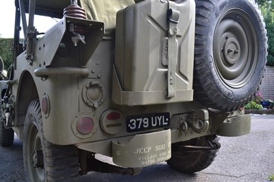 Lot 305-1960 Hotchkiss M201 Jeep