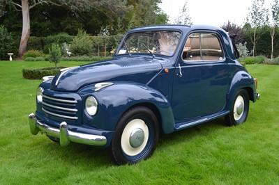 Lot 314-1954 Fiat 500C Topolino