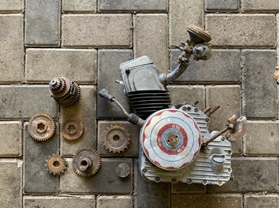 Lot 203-c1955 Ducati Cucciolo Engine