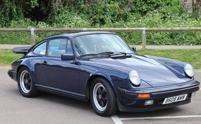 Lot -1984 Porsche 911 3.2 Sport
