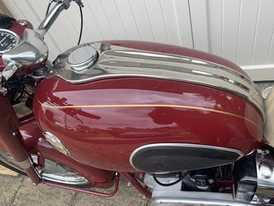 Lot 64 - 1957 Ariel NH 350 Red Hunter