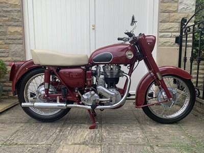 Lot 64 - 1957 Ariel NH 350 Red Hunter