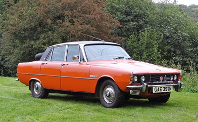 Lot 303-1974 Rover P6 3500S