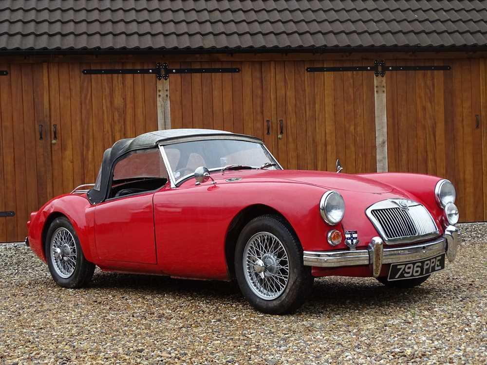 Lot 4-1960 MG A 1600 Roadster