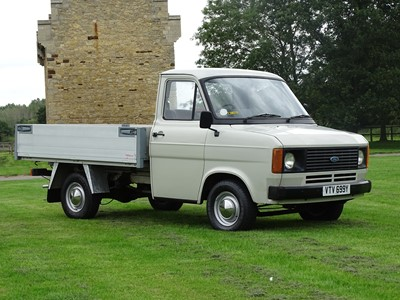 Lot 62-1982 Ford Transit MK2 Pick Up