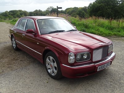 Lot 42-2002 Bentley Arnage R Automatic
