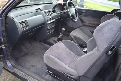 Lot 307-1993 Ford Escort XR3i