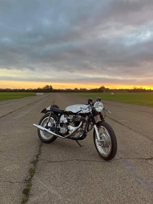 Lot 37 - 1956 Norton Dominator 99 Cafe Racer