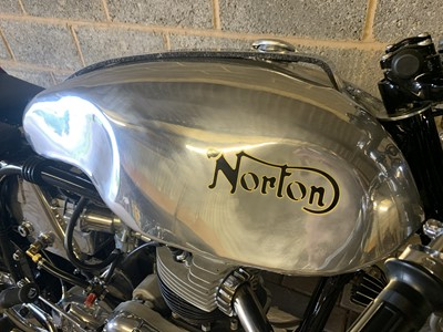 Lot -1956 Norton Dominator 99 Cafe Racer