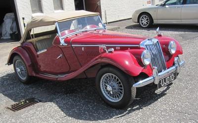 Lot 327-1953 MG TF