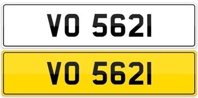 Lot 100.-Registration Number - VO 5621