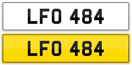 Lot 101-Registration Number - LFO 484