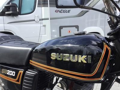 Lot 207-1981 Suzuki SB200