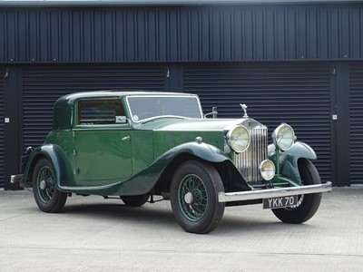 Lot 77-1933 Rolls-Royce 20/25 Coupe by Freestone & Webb