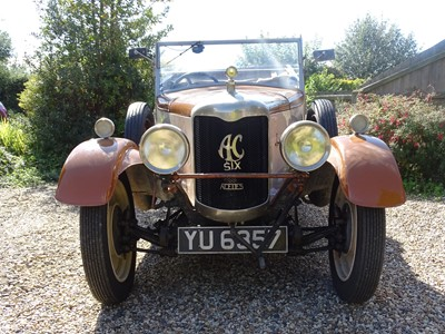 Lot 5-1926 AC Six Tourer