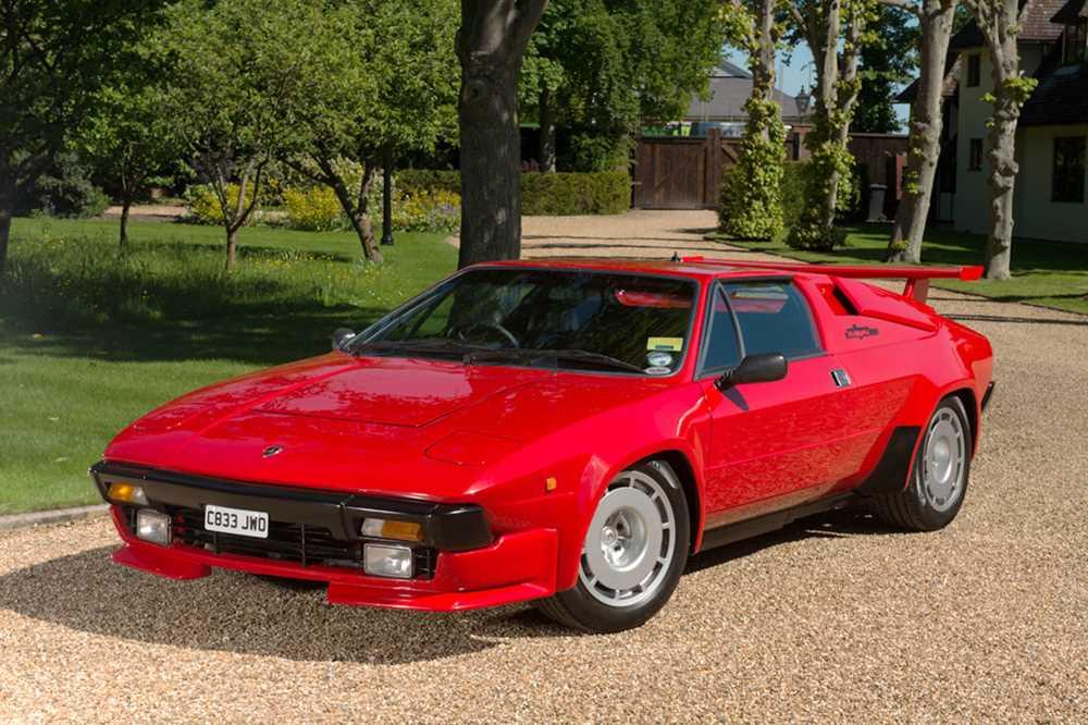 Lot -1986 Lamborghini Jalpa